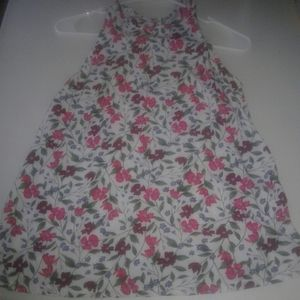 4/ $10 Floral Tank Top Size Small